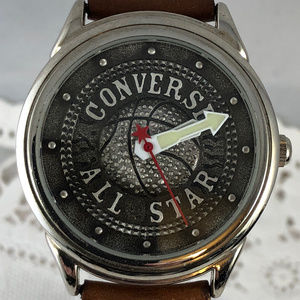 Converse All Star Basketball Watch Leather Strap